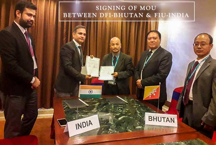 MoU with FIU India