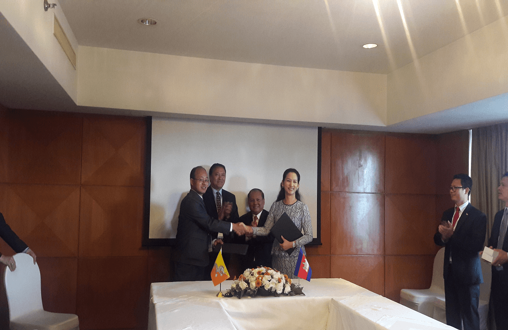 MoU with Cambodiae