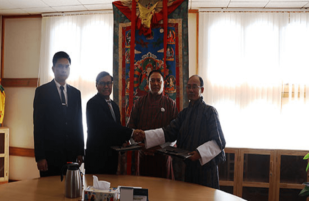 MoU with Myanmar
